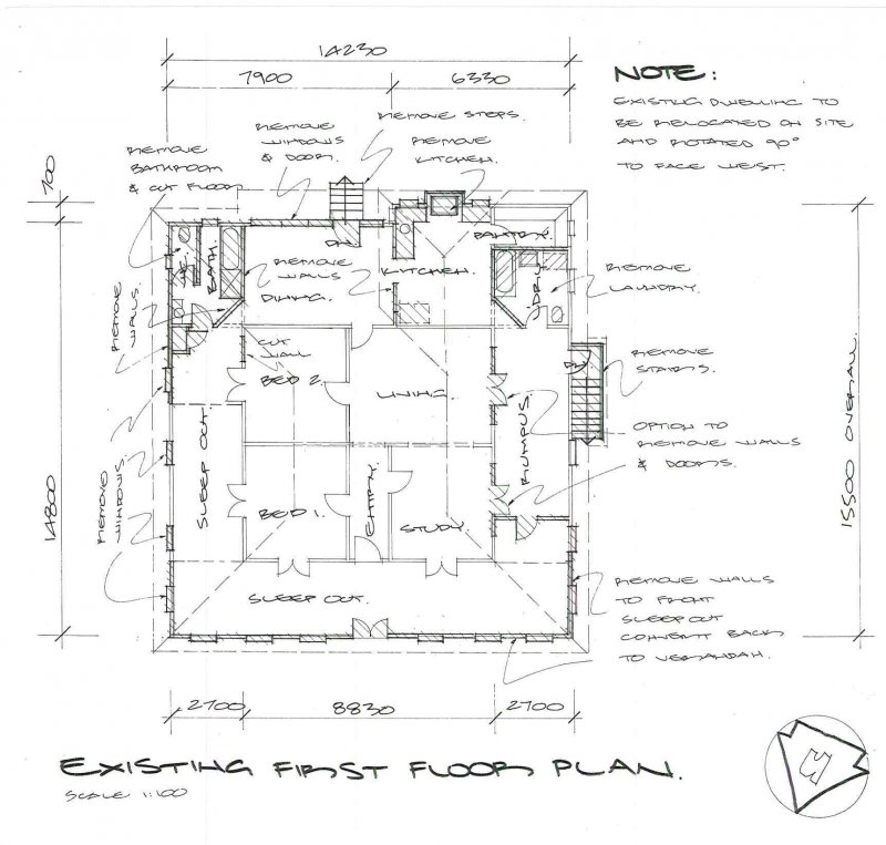 Old queenslander house plans house plans for Queenslander floor plans